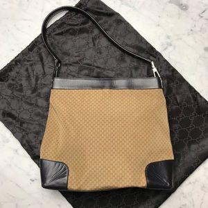 Vintage Gucci 90's Style Guccissima Print Hobo Bag